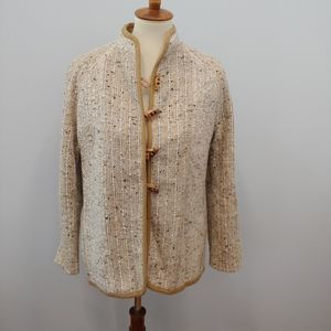 Vintage Studio Donegal Wool Blazer Jacket